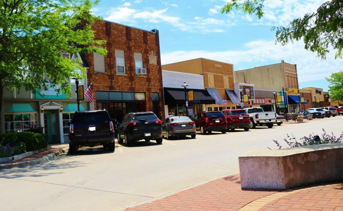 Downtown Carroll, Iowa