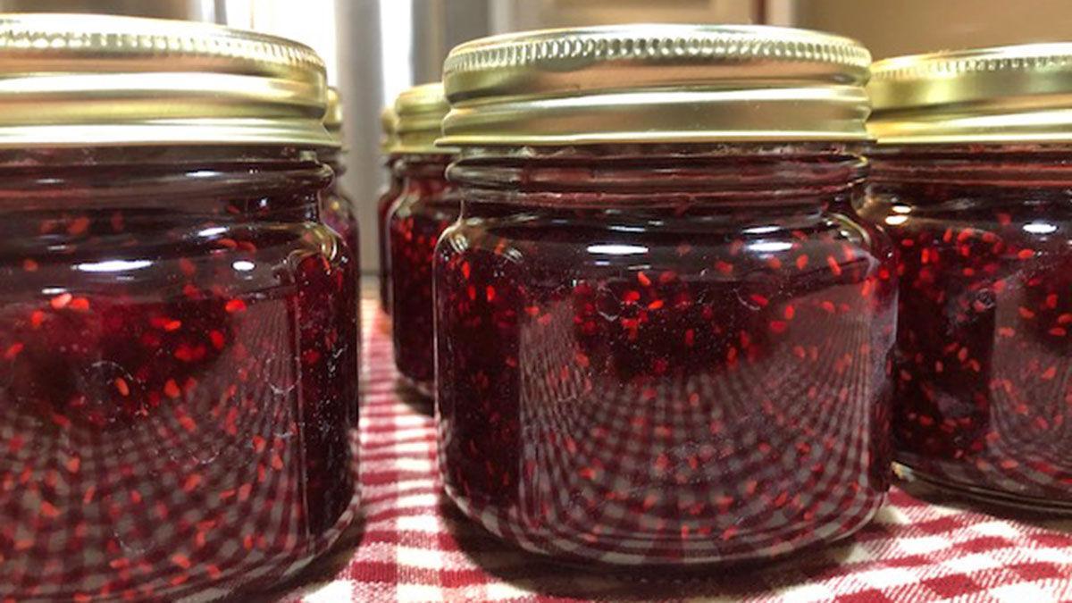 Raspberry jame