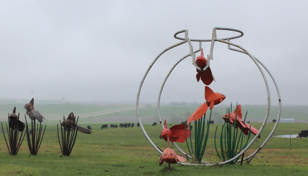 Sculpture Garden Fish Bowl