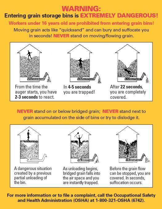 Grain Bin Safety from OSHA part 2