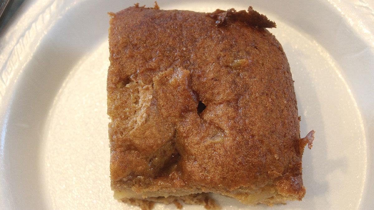 Three-Ingredient Apple Cake