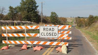 Road Closed infrastructure