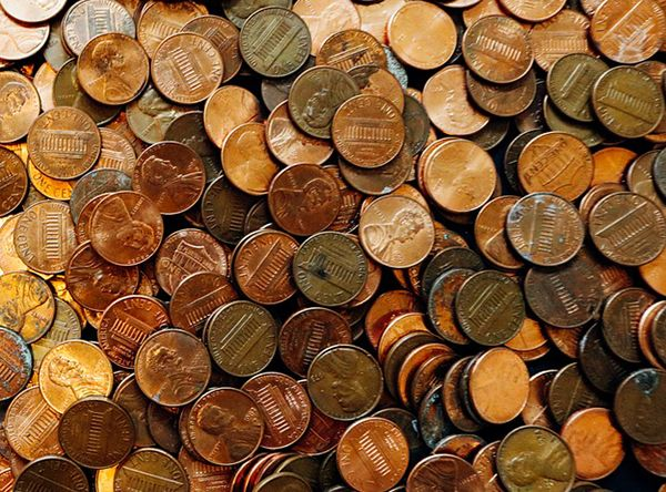 penny coins