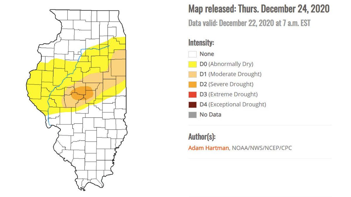 Central Illinois likely to see moisture before planting season