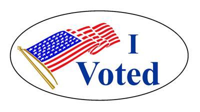 I votes sticker