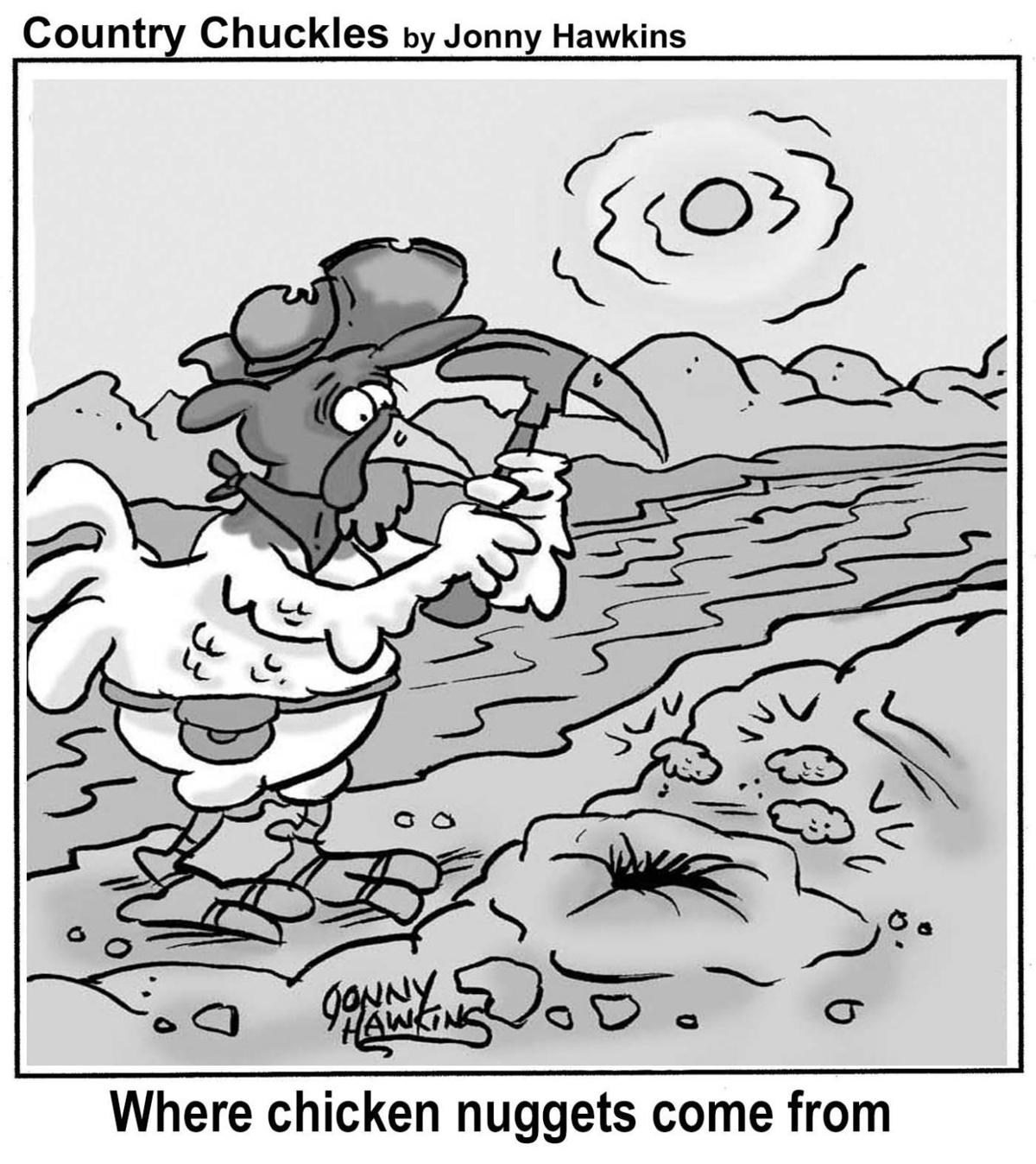 Country Chuckles by Jonny Hawkins