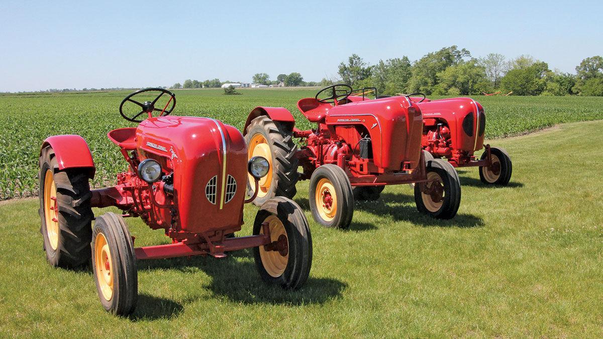Robby Dittmer 3 Porsche tractors