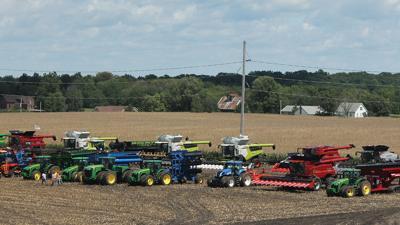 Machinery line up