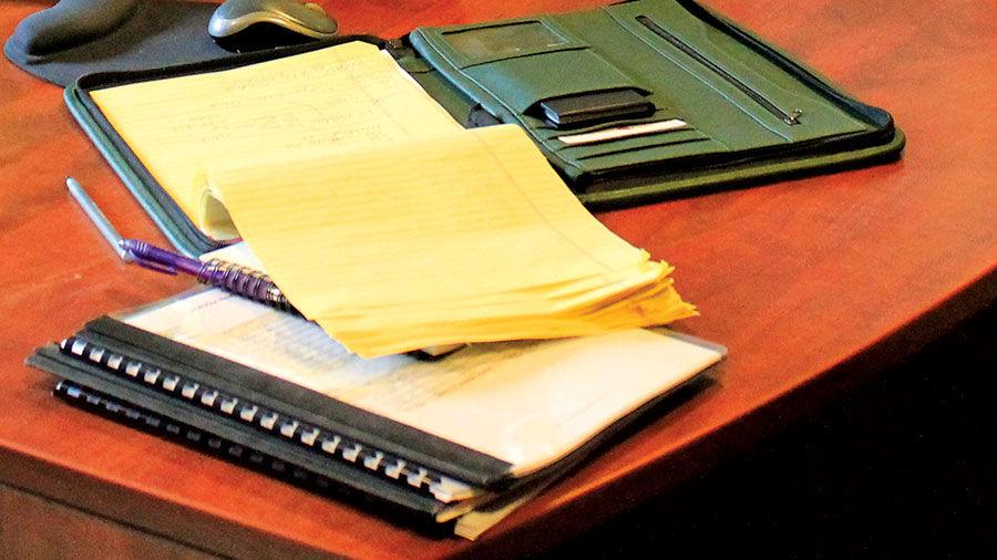 Documents on desktop