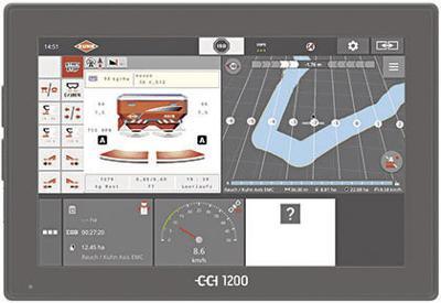 Kuhn CCI 1200 Touchscreen