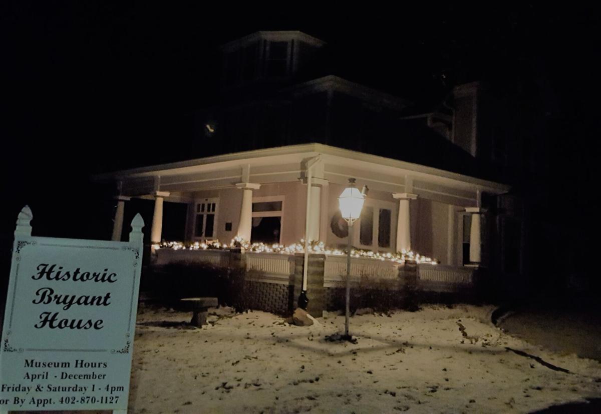 Bryant House night