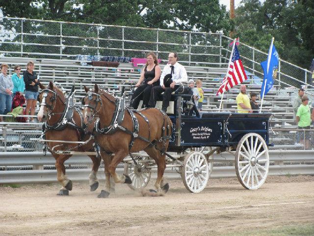 Current horse racing -- Waushara County Fair