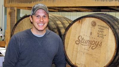 Adam Stumpf has found success distilling his own grain