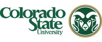 Colorado State University logo horizontal