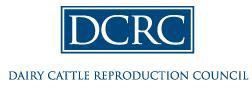 Dairy Cattle Reproduction Council logo