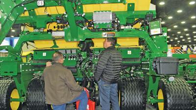 John Deere's new air seeder