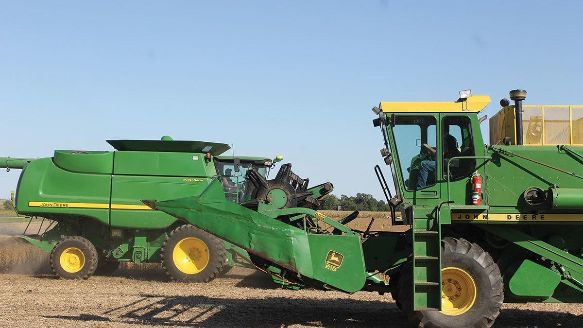 Two combines