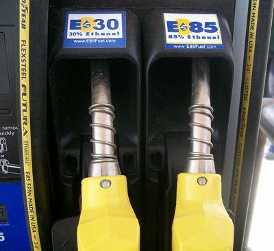 Ethanol nozzles