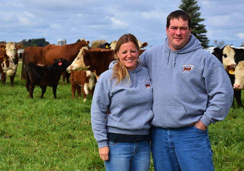 Matt and Sara Hintz