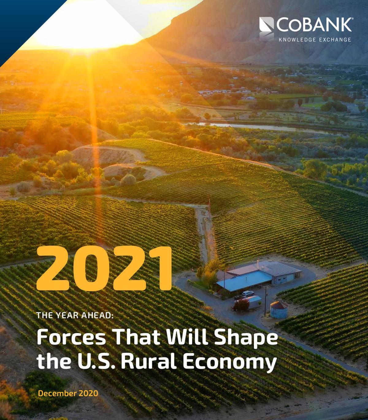 CoBank 2021 Rural Economic Report