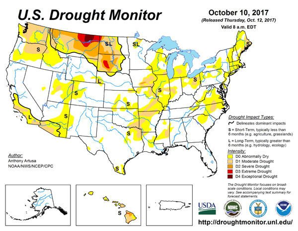 Rains improve drought conditions across the nation   State ...