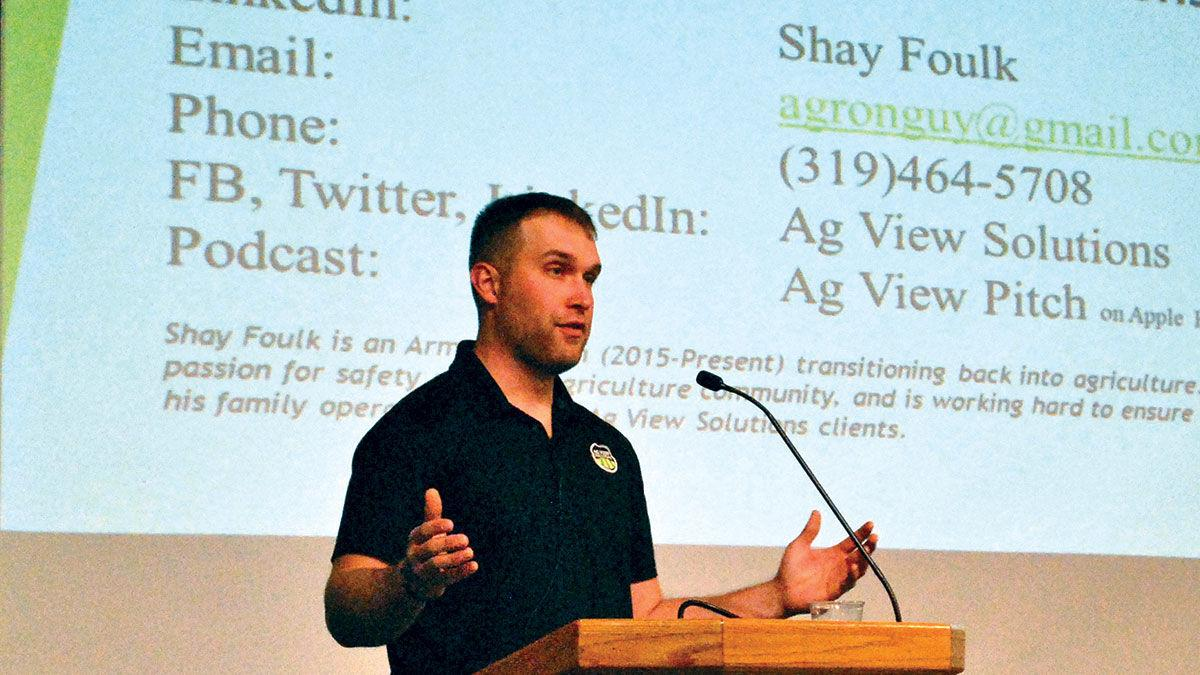 Shay Foulk safety consultant with Ag View Solutions