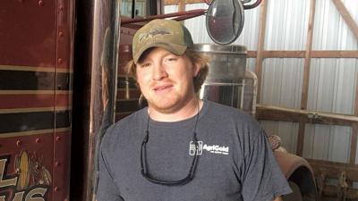 Bates County farmer Dane Diehl