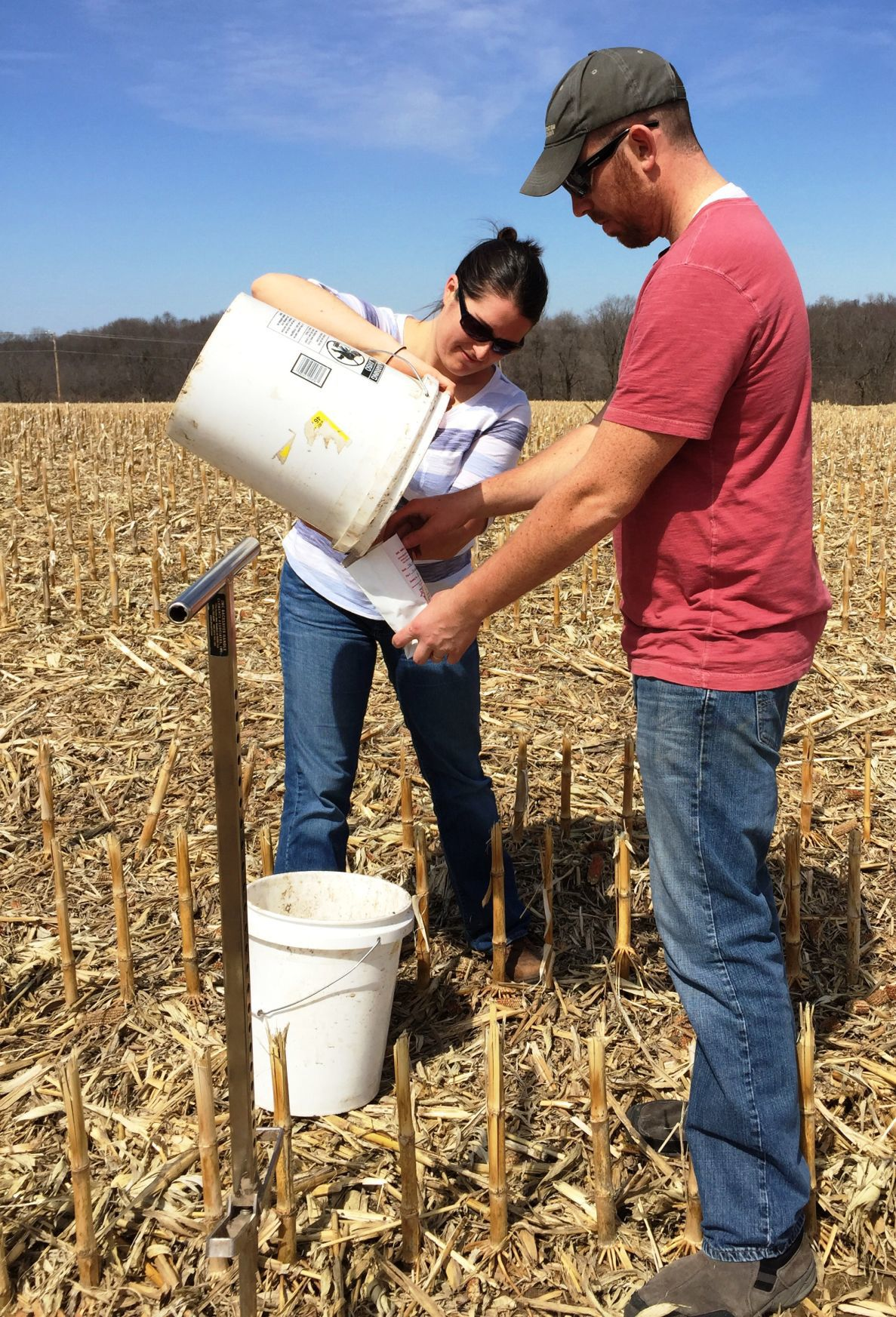 Soil sampling and collection