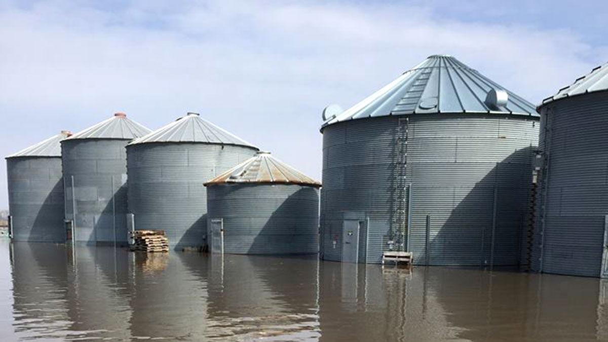MO flooded grain bins