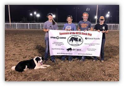 NCTA cattle dog demo at Kansas fair
