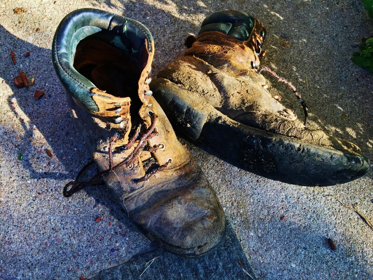 Old boots die