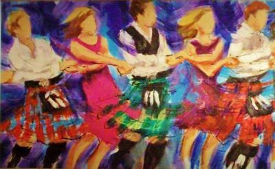 Auld lang syne dancing