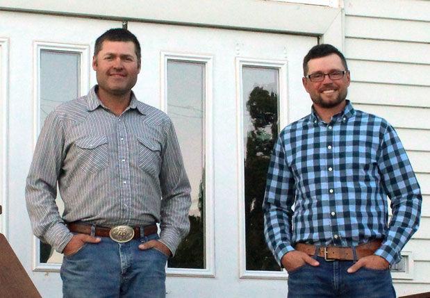 Luke Perman and Brett Huber