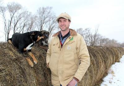 A farmer destined to continue a legacy