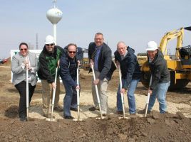 Groundbreaking for MacDon research facility in Sun Prairie, Wisconsin