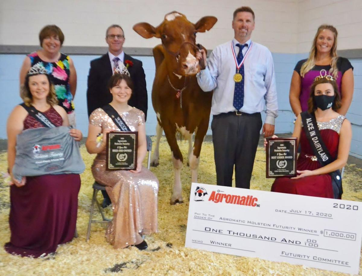 2020 Agromatic Holstein Futurity named 5-year-old class award winners