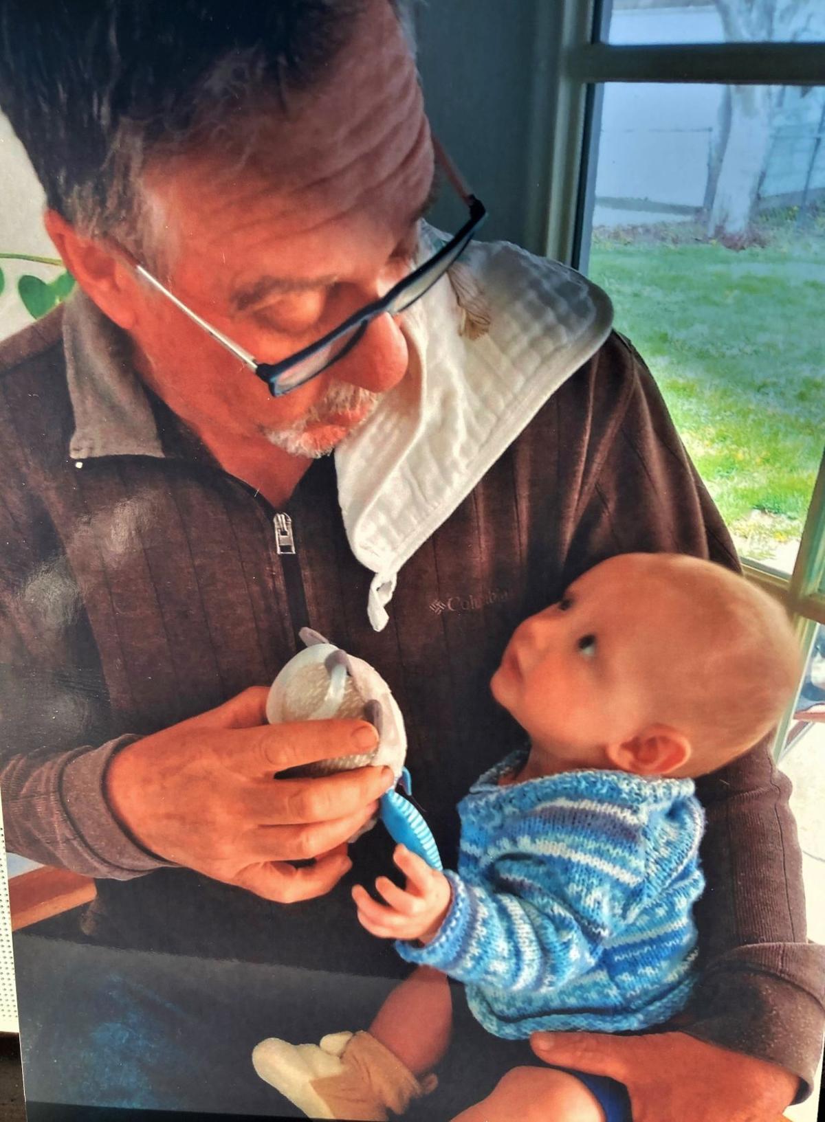 Greg Galbraith and grandson