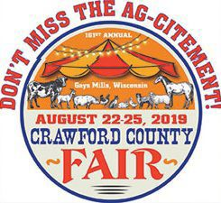 Crawford County Fair logo 2019