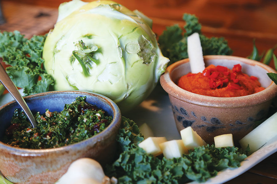 Hummus and Kale