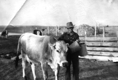 Milking history photo