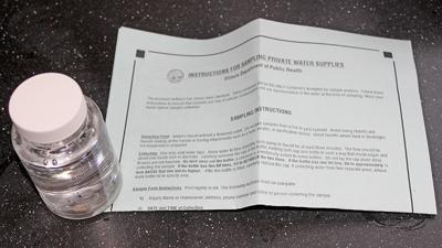 Illinois water test instructions