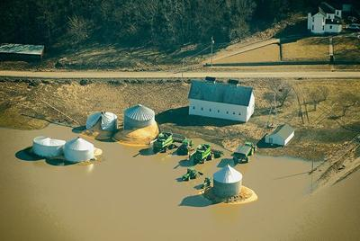 Grain storage struggles after flood far from over