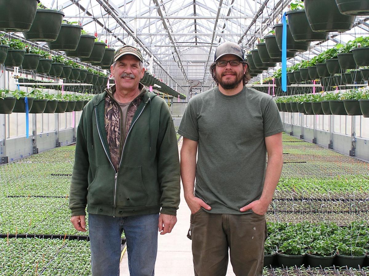 Jim Hauser, Jr. and Dane Hauser