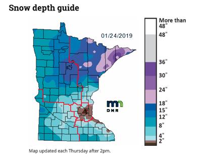 Minnesota Snow Depth