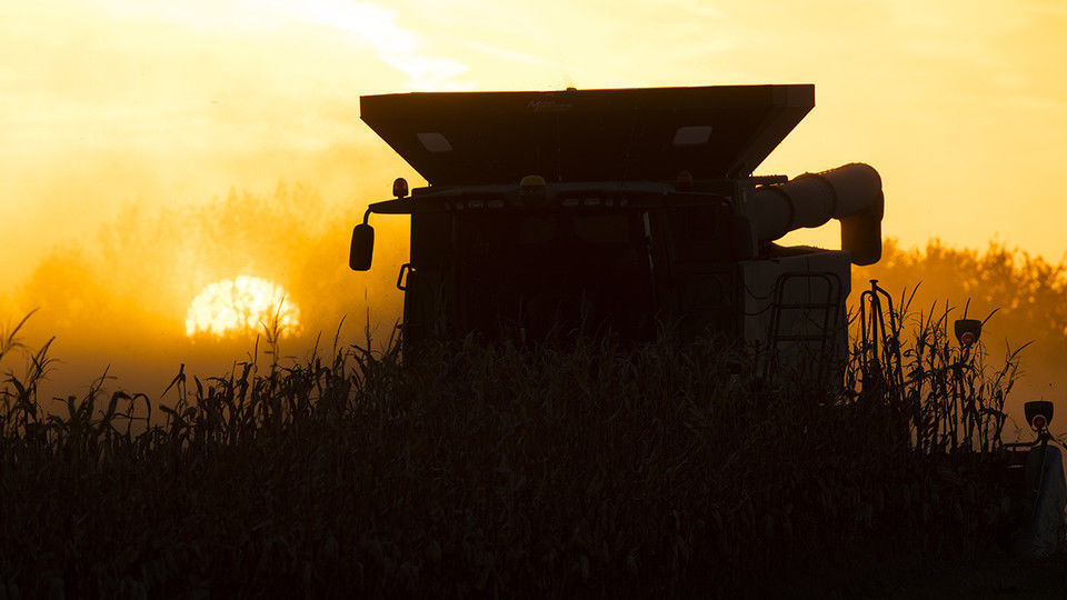 Combine operates at sunset