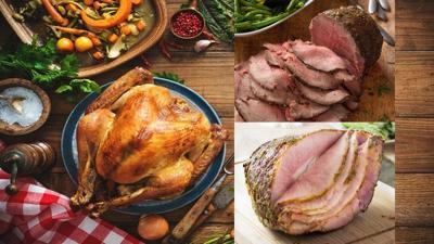 3 meat combo Turkey Beef Ham