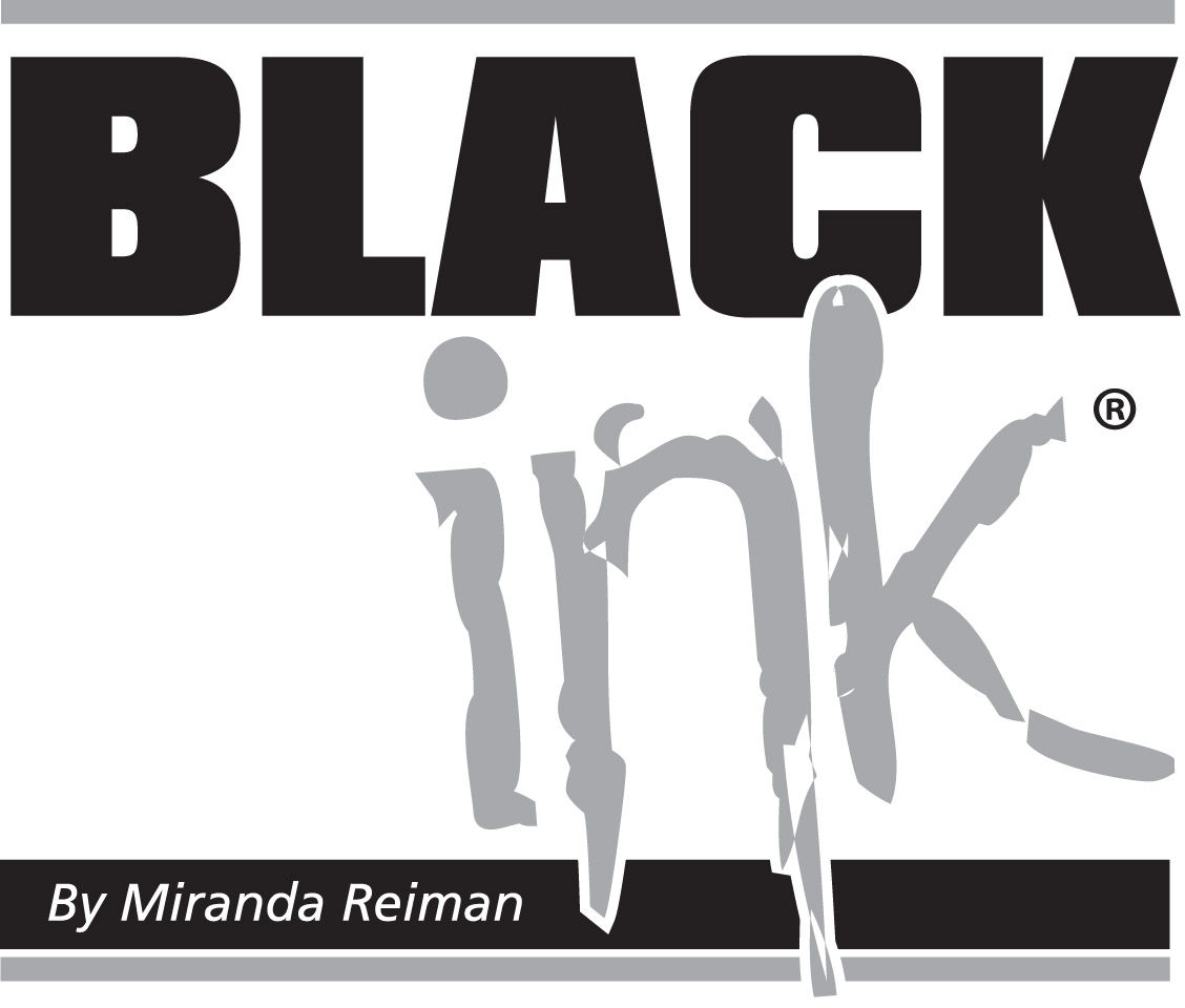 Black Ink logo Miranda Reiman