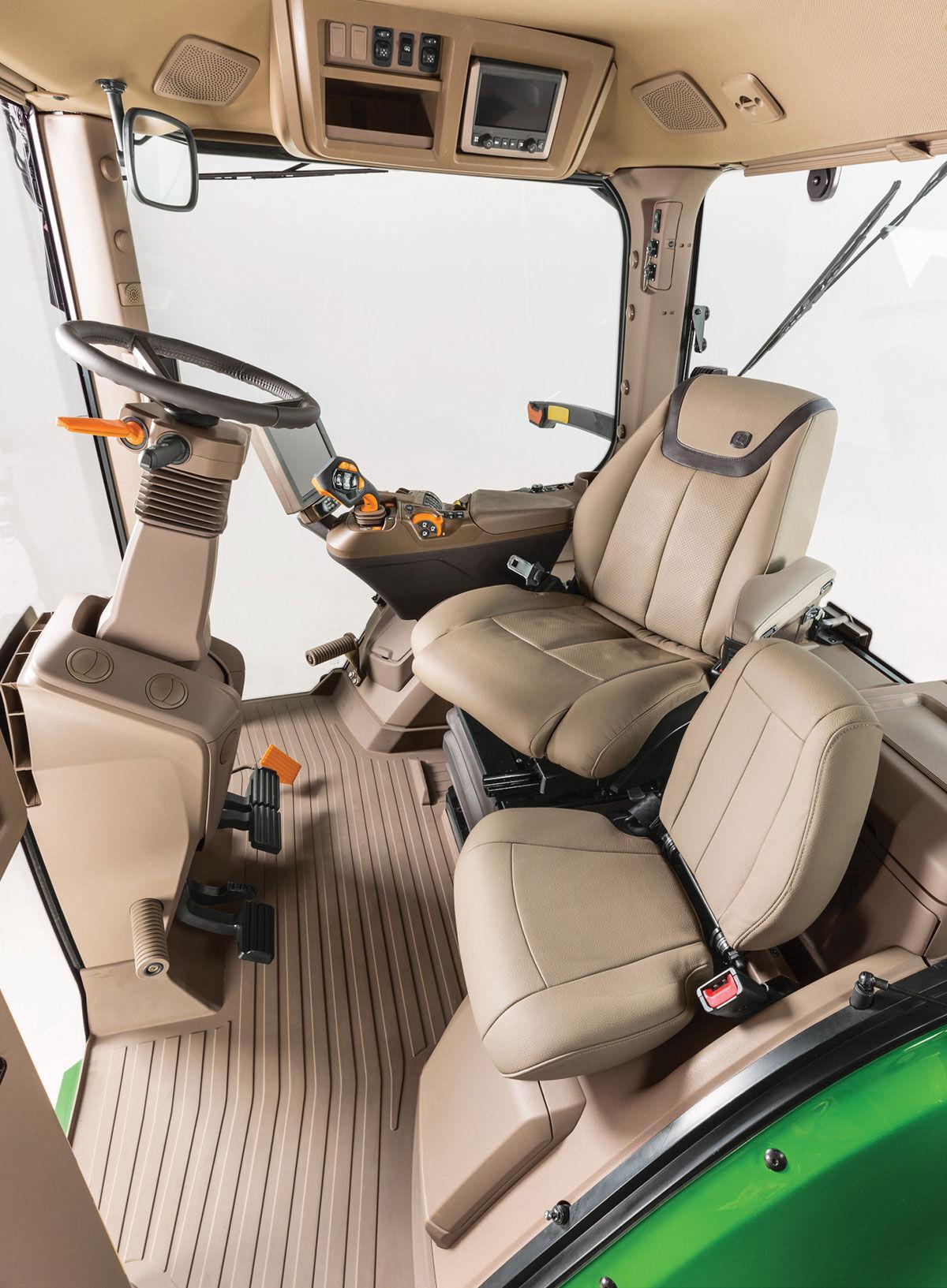 76792 Cab interior seats
