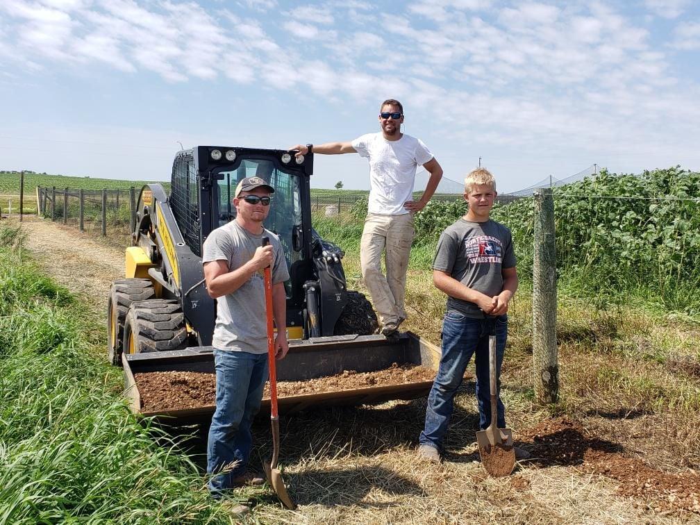 Swenson work crew