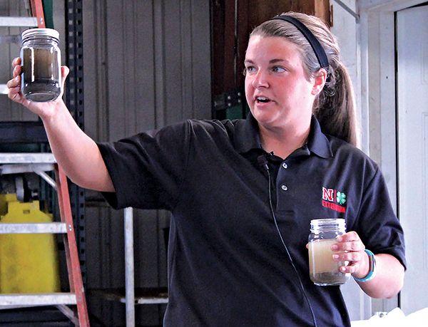 UNL Extension educator Megan Taylor